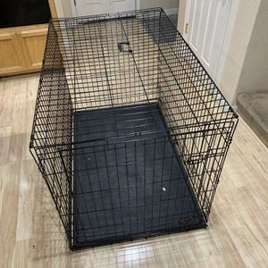 "XL Extra Large Collapsible Folding Dog Crate Cage 48""L X 30""W X 33""T for Sale in Elk Grove, CA"