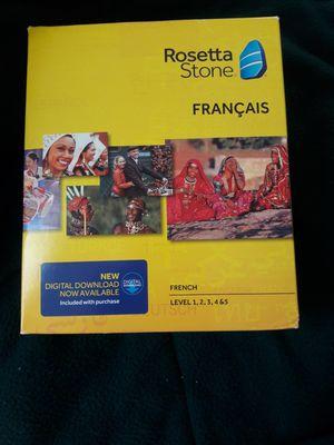 Rosetta stone French Level 1_5 for Sale in Fresno, CA