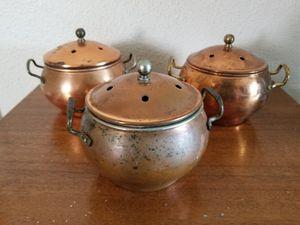 small coper lidded pot for Sale in St. Petersburg, FL