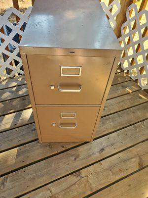 Free 2 dr non locking file cabinet for Sale in Graham, WA