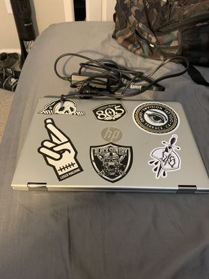 HP 2 and 1 touch screen laptop for Sale in Riverside, CA