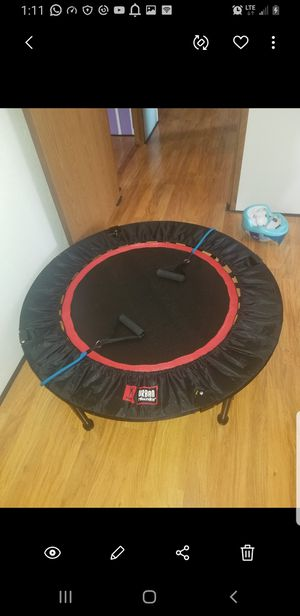 Trampoline exercice for Sale in Jacksonville, GA