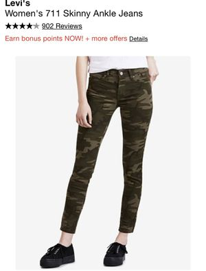 Women's Army fatigue Levi's Must Go ‼️ for Sale in Riverdale, GA