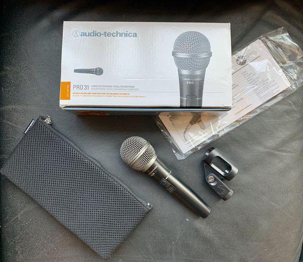 Audio Technica Pro 31 microphone