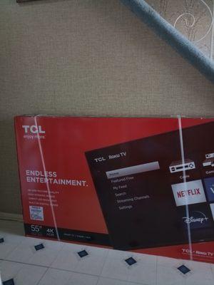 TCL 55 in 4k HD Tv for Sale in Eddington, PA