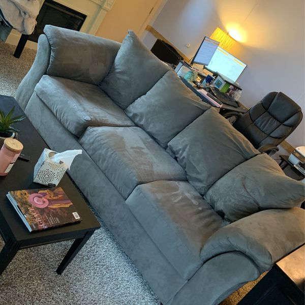 2year Old Couch Slate Gray