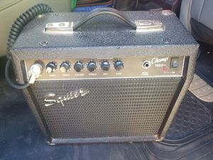Squire champ 15g practice amp for Sale in Leominster, MA