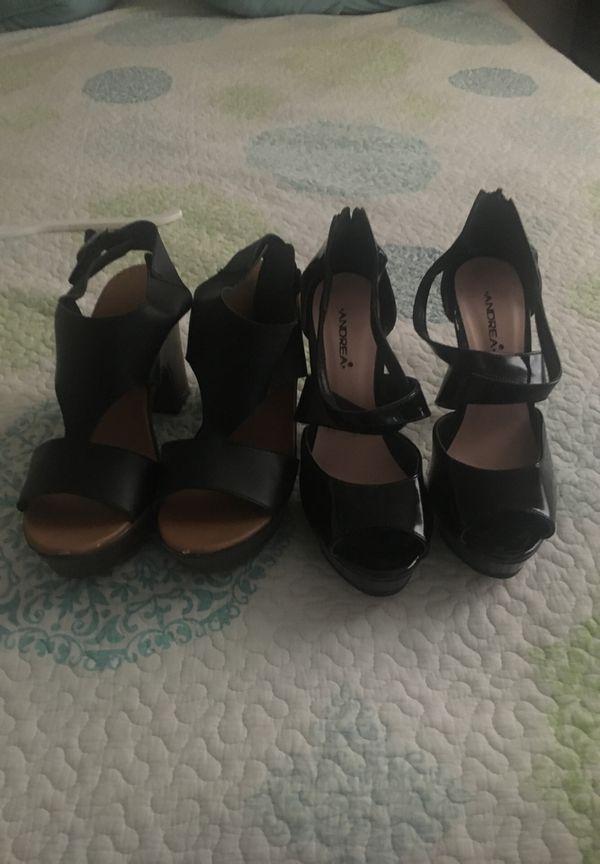Zapatos de Andrea y estefano son 7