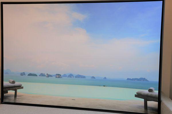 Framed Floating Canvas Print