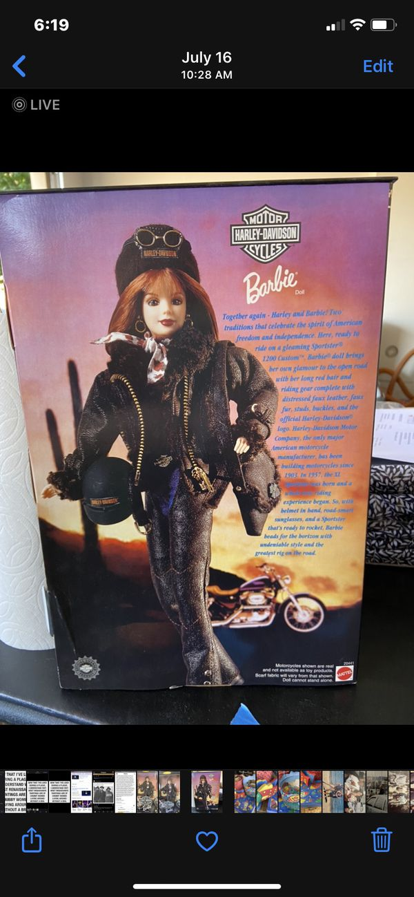 Harley Barbie 2 - NEVER opened!