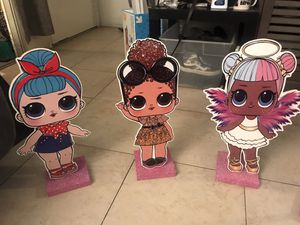 """LOL SURPRISE 17"""" WOODEN STANDS- $10 Each for Sale in Anaheim, CA"""
