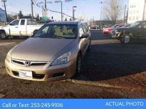 2006 HONDA ACCORD for Sale in Seattle, WA