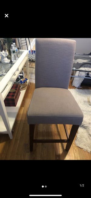 High dining chairs (4 in total)priced for each for Sale in New York, NY