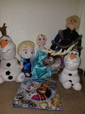 Frozen plushies for Sale in Phoenix, AZ