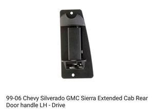 99-07 Silverado and Sierra Rear Door Handle for Sale in Austin, TX
