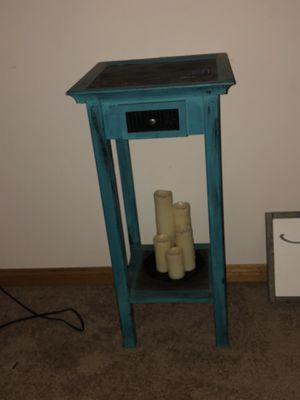 Teal telephone table for Sale in El Cajon, CA