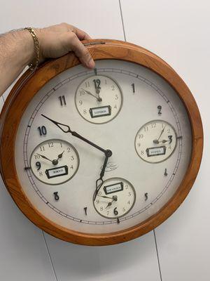 World time clock for Sale in Miami, FL