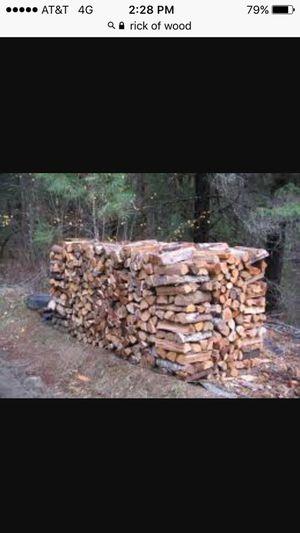 Fire wood oak 95 a rick 130 for delivery for Sale in Ville Platte, LA