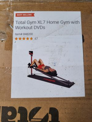 Total Gym XL7 Brand New Unopened Box for Sale in Twin Oaks, MO
