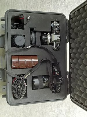 Official Student Konica Ft-1 & Motorsport t4 w/ Pelican Case for Sale in Westminster, CA