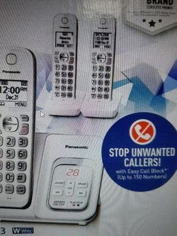 3 Handsets RETAIL $75 8.875% NY Tax, NEW- SEALED BOX Talking CALL ID for Sale in Queens,  NY