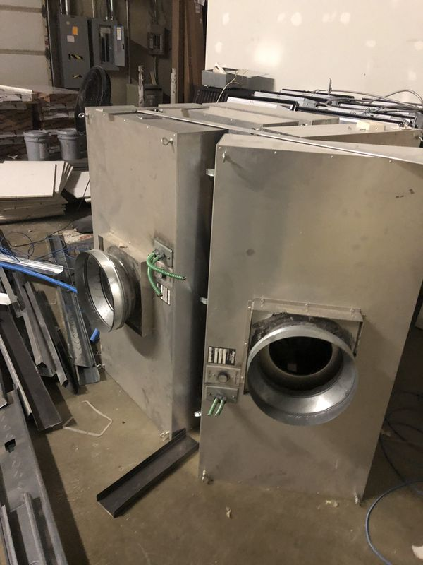 Commercial Hepa-Filters - HVAC Air Cleaners - 2'x4' Commercial Ceiling Grid