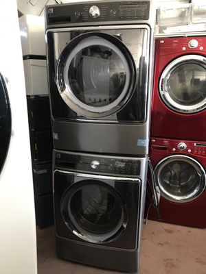 """Kenmore elite steam washer and steam gas dryer w: 30"""" for Sale in Hayward, CA"""