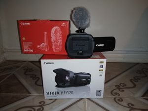 Canon G20 camcorder & canon DM100 MICROPHONE (COMBO) for Sale in The Bronx, NY