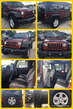 2007 Jeep Wrangler Unlimited 4x4 for Sale in Houston, TX
