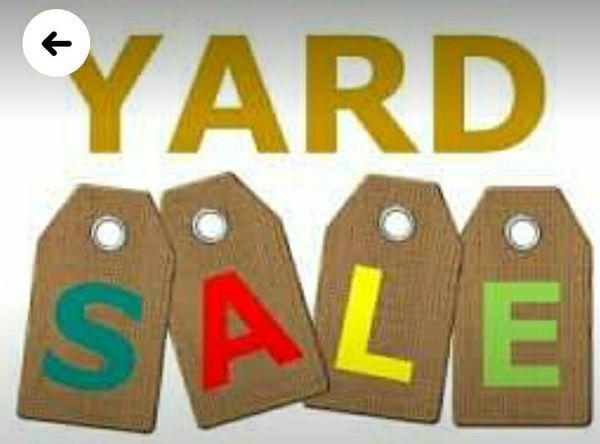 Yar sale Saturday 09/04/2020