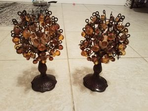 Mini Beaded Chandelier Style Candlesticks for Sale in Jacksonville, FL