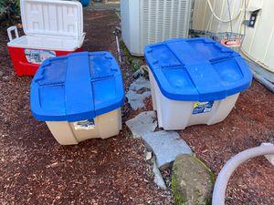 Plastic Storage container for Sale in Gresham, OR