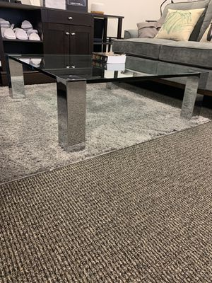 Solid Glass Modern Coffee Table for Sale in McLean, VA