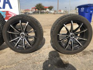 5 lugs Rims For Toyota Or Honda for Sale in Fresno, CA