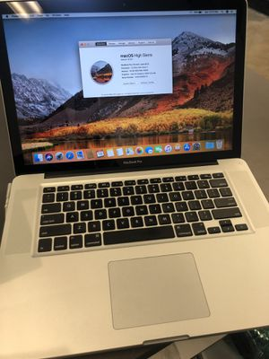 """MacBook Pro late 2011 15"""" Core i7 16gb Ram 500gb memory w charger no trades pick up in Tacoma for Sale in Joint Base Lewis-McChord, WA"""
