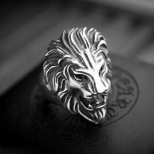 Men Stainless Steel Lion Head Ring size 9 10 11. Brand new for Sale in Panama City, FL