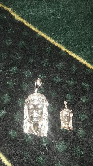 Men sterling silver diamond pendants for Sale in Waterloo, IA