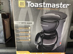 5 cup coffee maker toastmaster for Sale in Lancaster, CA
