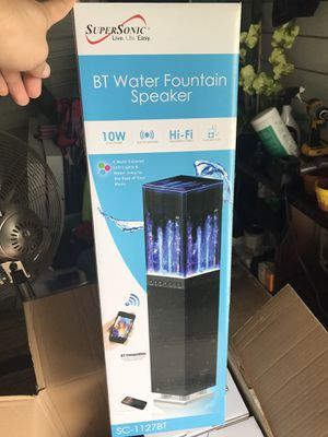 Speaker water fountain with LED lights for Sale in Virginia Beach, VA