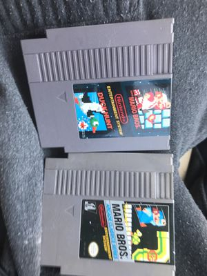 2NES games. One game is a true rarity, the original Mario Bros Arcade Classic Series for Sale in Chevy Chase, MD