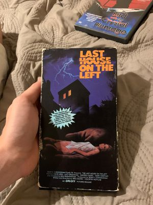 The last house on the left 1972 vhs for Sale in Phoenix, AZ