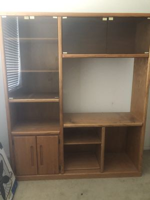 TV stand/entertainment center for Sale in Commerce City, CO