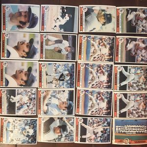 Topps Yankees 1979 Baseball Cards for Sale in St. Charles, IL