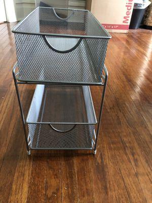 2 tier mesh organizer for Sale in DeKalb, IL