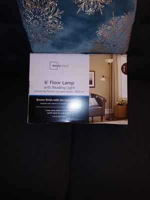 Floor lamp with an attached reading light for Sale in Louisville, KY