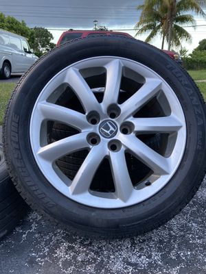 "Honda Ridgeline passport odyssey18"" rims tires wheels rines -PRICE IS FIRM! for Sale in Miami, FL"