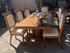 Dining Room Table 8 Chairs for Sale in Mansfield, TX