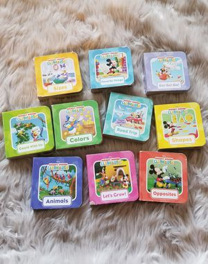 Mickey mouse clubhouse learning books for Sale in Downey, CA