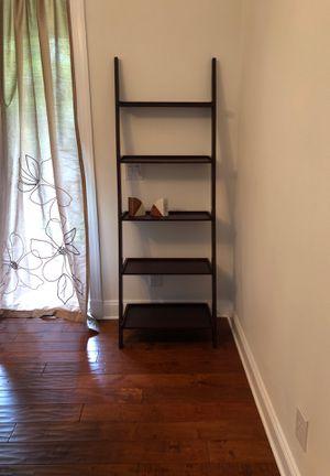5 shelf display unit (Dark Brown Cappuccino) for Sale in Fort Lauderdale, FL