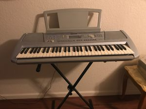 Yamaha keyboard PSR-292 Excellent for Sale in Modesto, CA